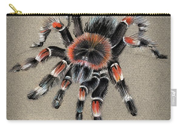 Brachypelma Smithi  Mexican Red Knee Tarantula Carry-all Pouch