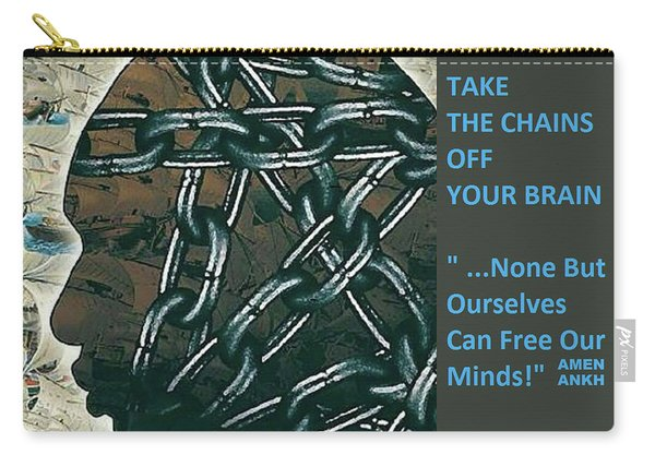 Brain Chains Carry-all Pouch