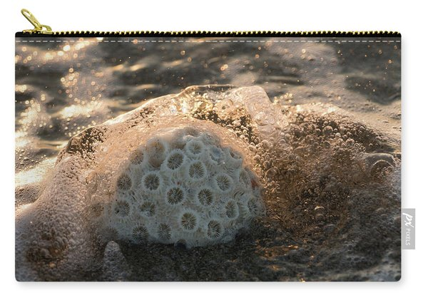Brain Coral Splash Delray Beach Florida Carry-all Pouch