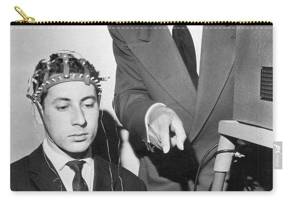 Brain Waves Illuminate Bulb Carry-all Pouch