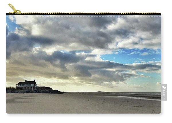 Brancaster Beach This Afternoon 9 Feb Carry-all Pouch