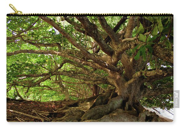 Branches And Roots Carry-all Pouch