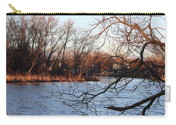 Branches Over Water Carry-all Pouch