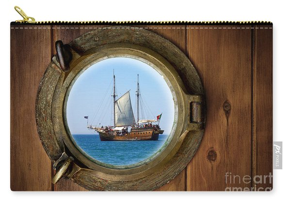 Brass Porthole Carry-all Pouch