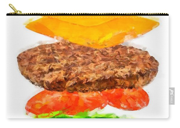 Brazilian Salad Cheeseburger Carry-all Pouch