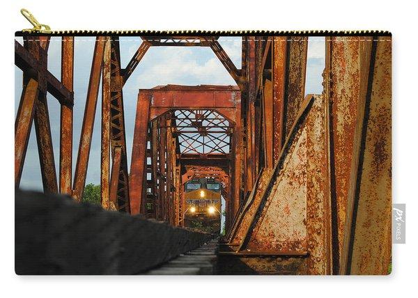 Brazos River Railroad Bridge Carry-all Pouch