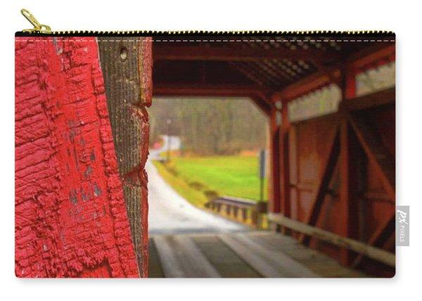 Break In The Bridge Carry-all Pouch