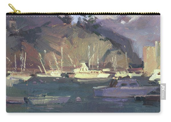 Break Of Dawn-avalon Carry-all Pouch