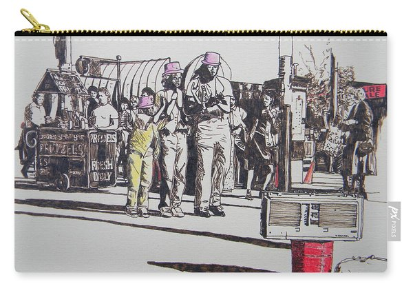 Breakdance San Francisco Carry-all Pouch
