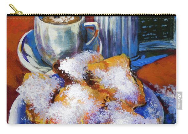 Breakfast At Cafe Du Monde Carry-all Pouch