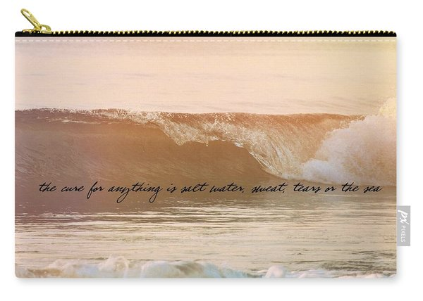 Breaking Wave Quote Carry-all Pouch