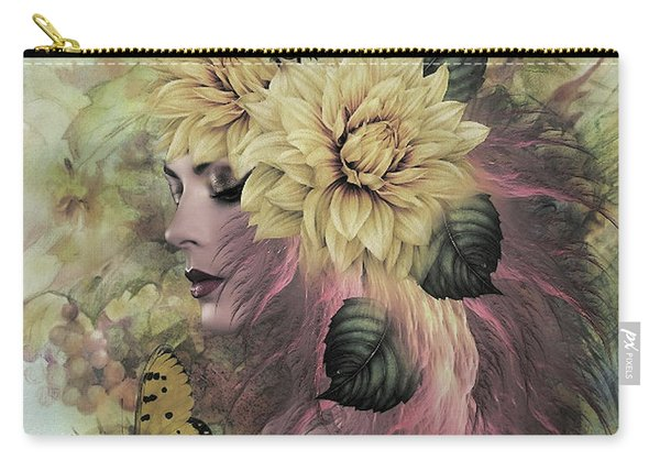 Breeze Blowing With Fragrance Carry-all Pouch