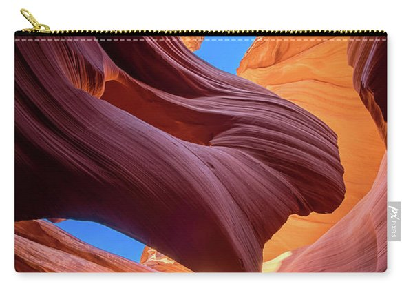 Breeze Of Sandstone Carry-all Pouch