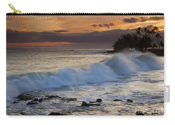 Brennecke Waves Sunset Carry-all Pouch