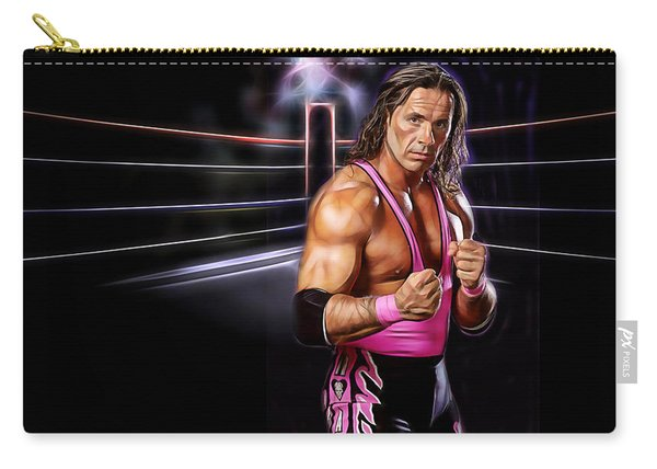 Bret Hart Wrestling Collection Carry-all Pouch