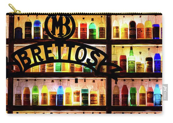 Brettos Bar In Athens, Greece - The Oldest Distillery In Athens Carry-all Pouch