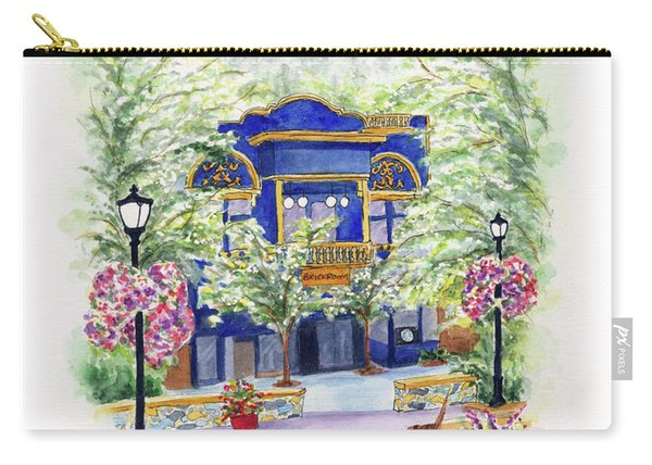 Brickroom On The Plaza Carry-all Pouch