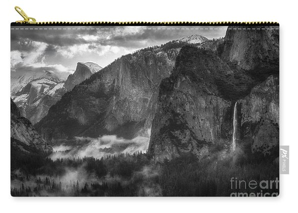 Bridalvail Falls And Half Dome Carry-all Pouch