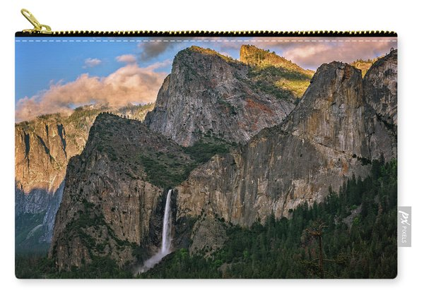 Bridalveil Falls From Tunnel View Carry-all Pouch