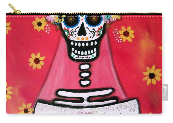 Bridezilla Dia De Los Muertos Carry-all Pouch