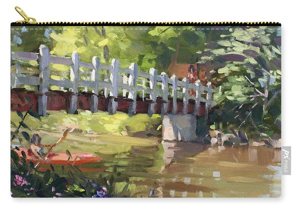 Bridge At Ellicott Creek Park Carry-all Pouch