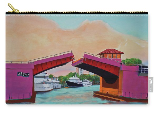 Bridge At Se 3rd Carry-all Pouch