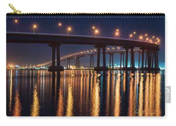 Bridge Bedazzled Carry-all Pouch
