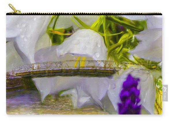 Bridge Flower.  Carry-all Pouch