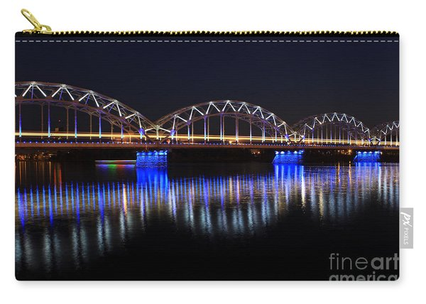 Bridge In Riga  Carry-all Pouch