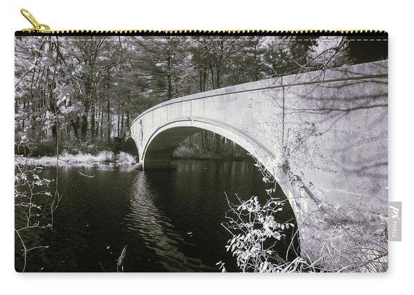 Bridge Over Infrared Waters Carry-all Pouch