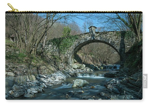 Bridge Over Peaceful Waters - Il Ponte Sul Ciae' Carry-all Pouch
