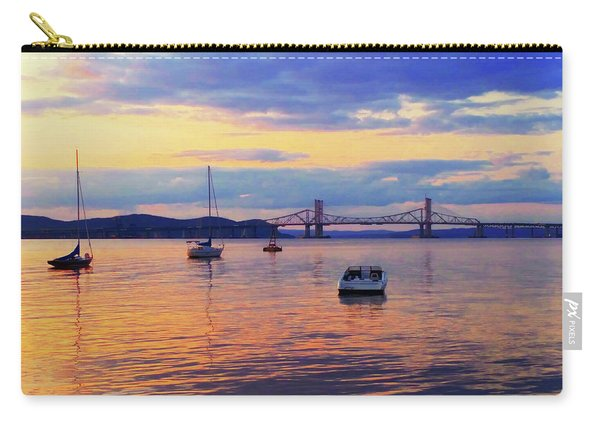 Bridge Sunset Carry-all Pouch