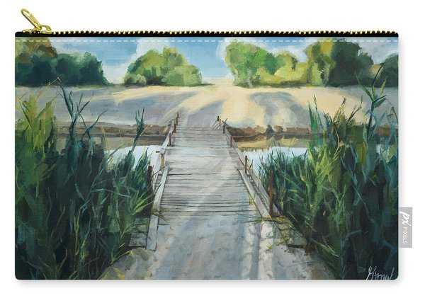 Bridge To Beach Carry-all Pouch