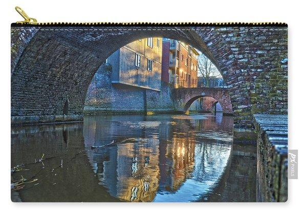 Bridges Across Binnendieze In Den Bosch Carry-all Pouch