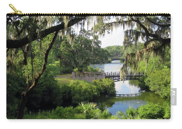 Bridges Over Tranquil Waters Carry-all Pouch