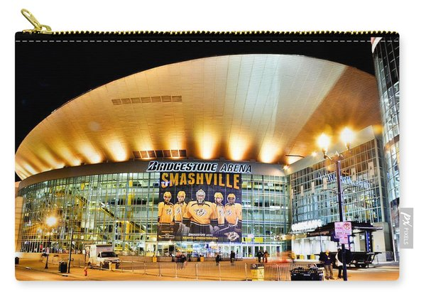Bridgestone Arena Carry-all Pouch