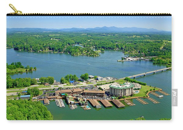Bridgewater Plaza, Smith Mountain Lake, Virginia Carry-all Pouch
