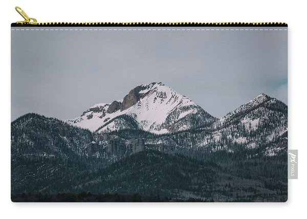 Carry-all Pouch featuring the photograph Brief Luminance by Jason Coward