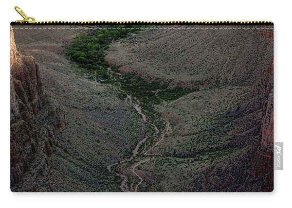 Bright Angel Trail From The South Rim, Grand  Canyon Carry-all Pouch