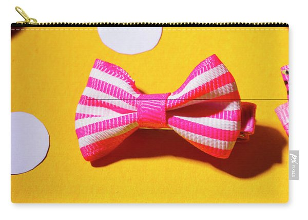 Bright Bow Tie Gallery Carry-all Pouch