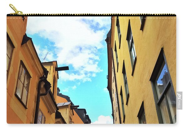 Bright Buildings In The Old Center Of Stockholm Carry-all Pouch