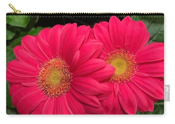 Bright Gerbera Duette Carry-all Pouch