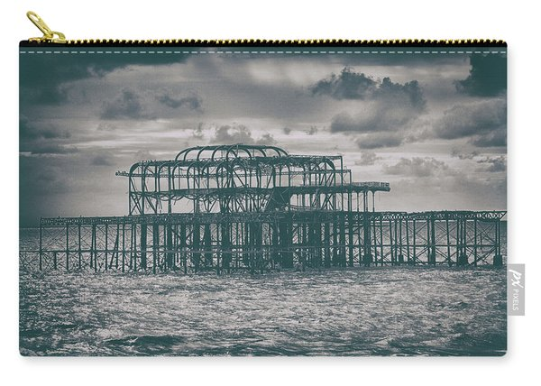 Brighton's Old Pier Carry-all Pouch