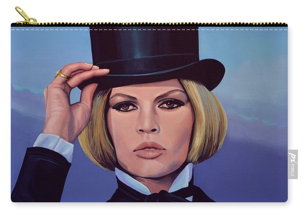 Brigitte Bardot Painting 2 Carry-all Pouch