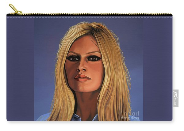 Brigitte Bardot Painting 3 Carry-all Pouch