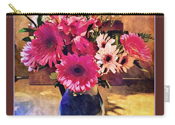 Brithday Wish Bouquet Carry-all Pouch