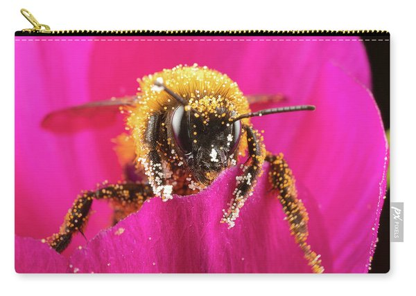 Carry-all Pouch featuring the photograph Bro Got Any Pollen by Brian Hale