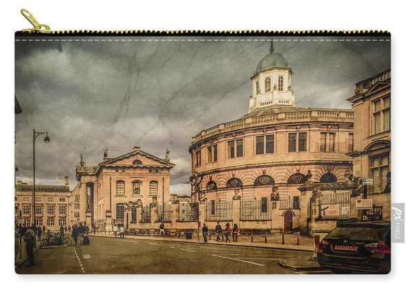 Oxford, England - Broad Street Carry-all Pouch