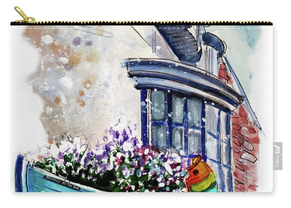 Broadies By The Sea In Staithes Carry-all Pouch