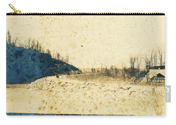Broadway And Riverside Drive, 1905 Carry-all Pouch